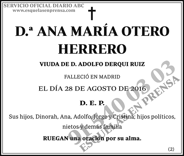 Ana María Ortero Herrero
